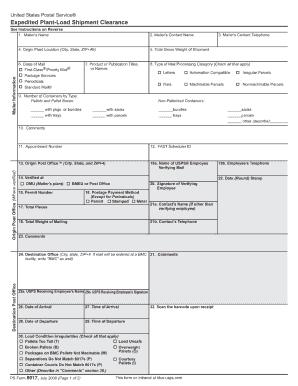 Ps 8017 - Fill Online, Printable, Fillable, Blank   PDFfiller