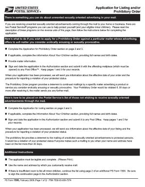 Usps Form 1500 - Fill Online, Printable, Fillable, Blank | PDFfiller