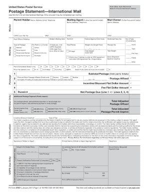 how to fill out ps3700 usps form