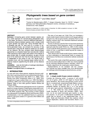 Fillable Phylogenetic Tree - Fill Online, Printable ...