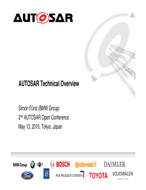 Autosar Technical Overviewpdf - Fill Online, Printable
