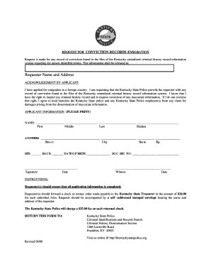 kentucky state police emigration form
