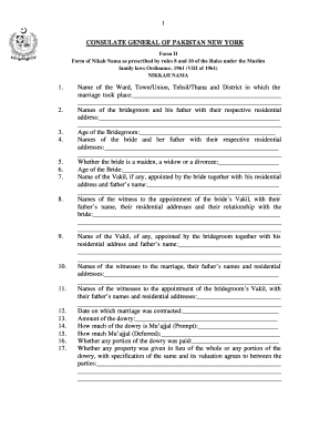 Muslim Family Laws Ordinance 1961 Pdf