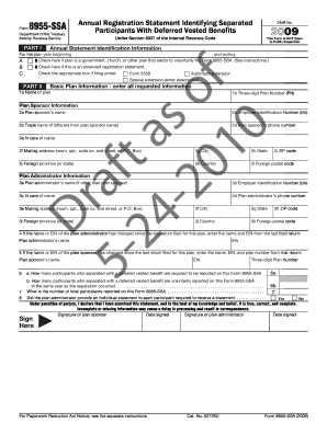 Printable Form 8955 Ssa - Fill Online, Printable, Fillable, Blank ...
