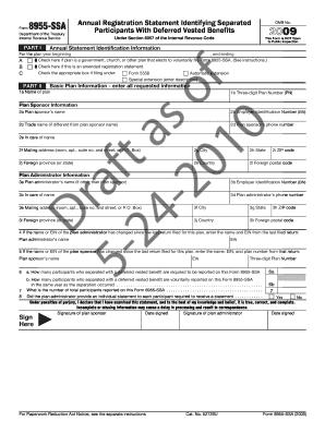 printable form 8955 ssa