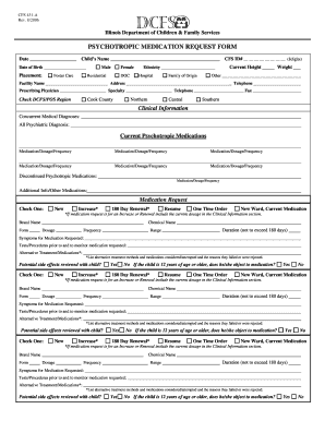 illinois cfs431 1 2006  form