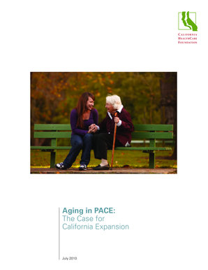 Aging in PACE: The Case for California Expansion - sdcounty ca