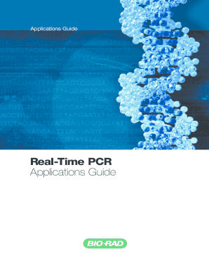 Discontinued) real-time pcr applications guide #1709799 | life.