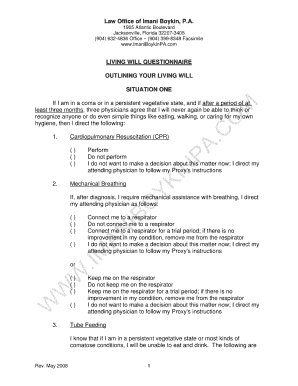 Bill Of Sale Form Florida Living Will Form Templates - Fillable ...