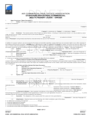 26 Printable Standard Commercial Lease Forms And Templates