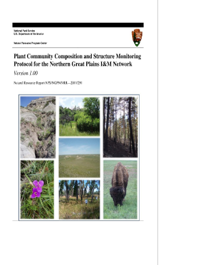 plant community composition and structure monitoring protocol