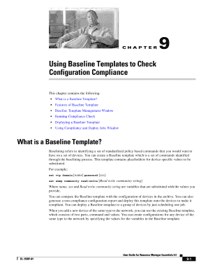 fillable baseline template
