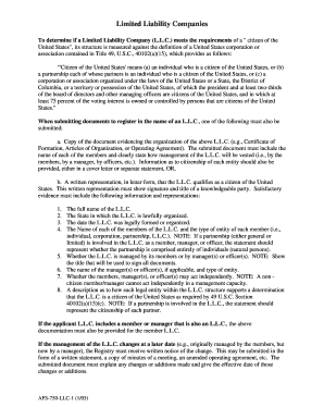 Cover Letter Faa Citizen Llc Form