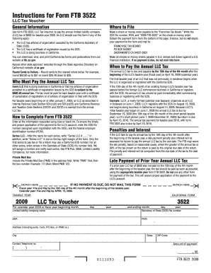 Llc tax voucher form Fill Online, Printable, Fillable, Blank ...