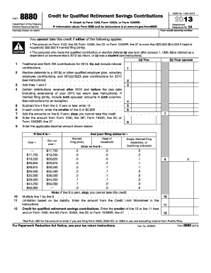 form 8880 instructions