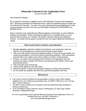 Sample grant proposal non profit forms and templates for Grant template for nonprofit