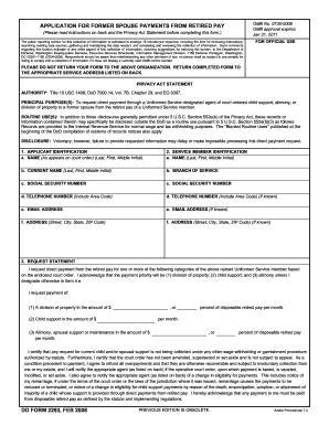 Form 2293 Tekil Lessecretsdeparis Co