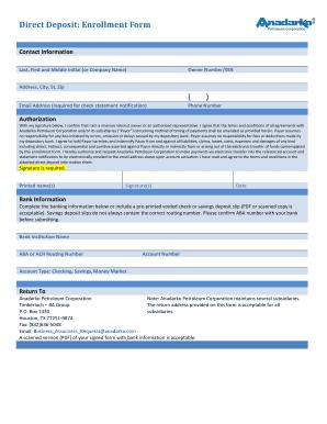direct deposit authorization form wells fargo Templates - Fillable ...