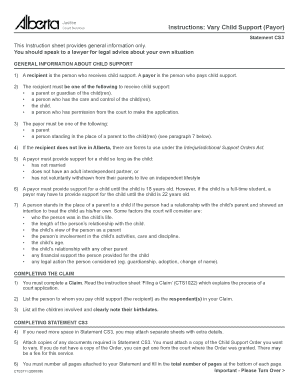 child support agreement form alberta Fill Online, Printable, Fillable ...