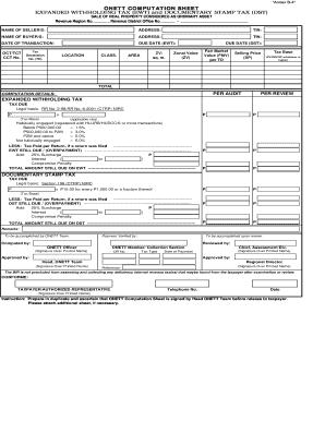 Computation Sheet - Fill Online, Printable, Fillable, Blank | PDFfiller