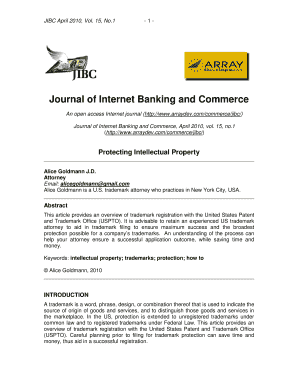 sample cover lettere mail to internet banking and commerce journal form