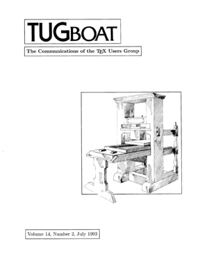 Complete issue 14: 2 as one pdf - TUG - tug