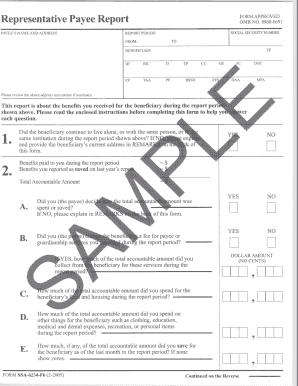 Social Security Ssa 623 Form
