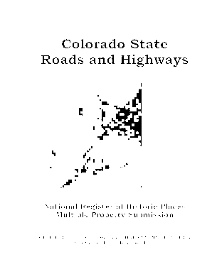 Colorado State Roads and Highways - historycolorado