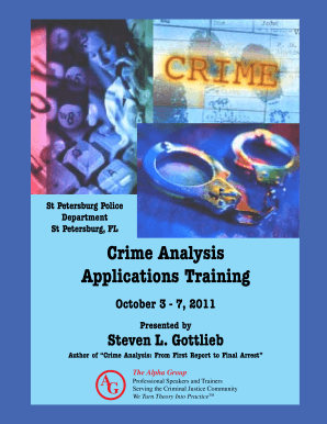 crime analysis from first report to final arrest by steven gottlieb pdf form