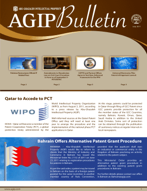 Qatar to Accede to PCT Bahrain Offers Alternative Patent Grant ...