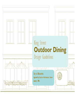 King Street Outdoor Dining Guidelines - City of Seattle - cityofseattle