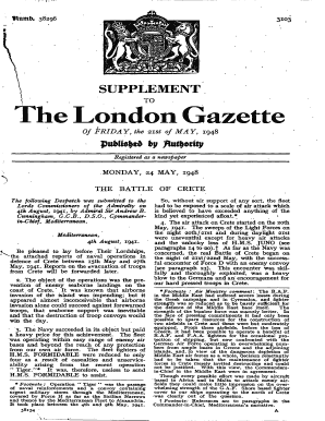london gazette abdiel form