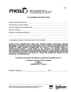 Ada Accomodation Request Form - Fill Online, Printable, Fillable ...