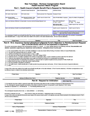 nys workers compensation forms Templates - Fillable & Printable ...