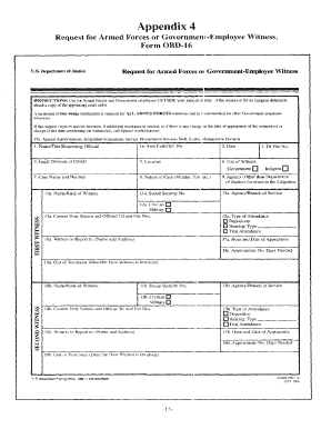 obd 16 request for armed forces ofgovernment employee witness form