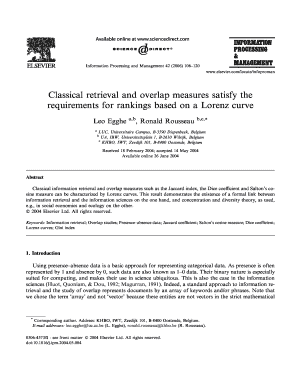 Classical retrieval and overlap measures satisfy the requirements for ... - yunus hacettepe edu