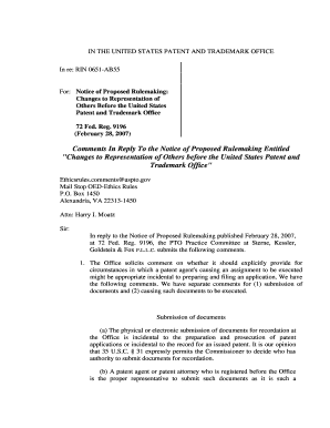 Sterne, Kessler , Goldstein, and Fox - U.S. Patent and Trademark Office - uspto