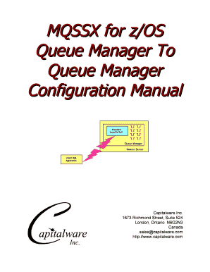 MQSSX for z/OS Queue Manager To Queue Manager ... - Capitalware - capitalware