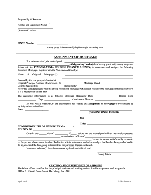 phfa forms