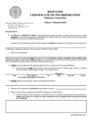 certificate of incorporation 1362