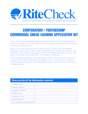 rite check cashing mail form