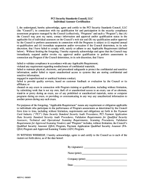 pci security standards council llc operating agreement form