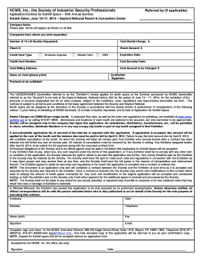 ncms application form