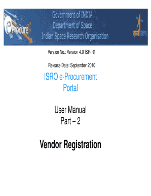 online vendor registration form pgcil