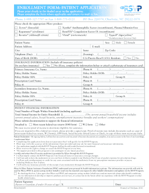 Pfizer fillable application form