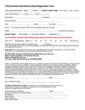 fillable race registration