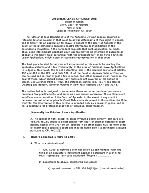 Court of Appeals Leave Applications ( PDF ) - Monroe County - monroecounty