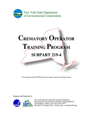 nysdec crematory operator certification program form