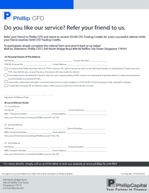 Referral Form for ReferAFriend - 2Q11(F) - Phillip CFD