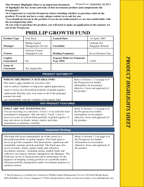 philip growth fund form